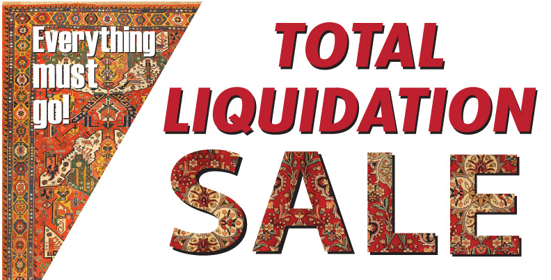 Shop Our Total Liquidation Sale For Outstanding Value On Our Premium Oriental Rugs